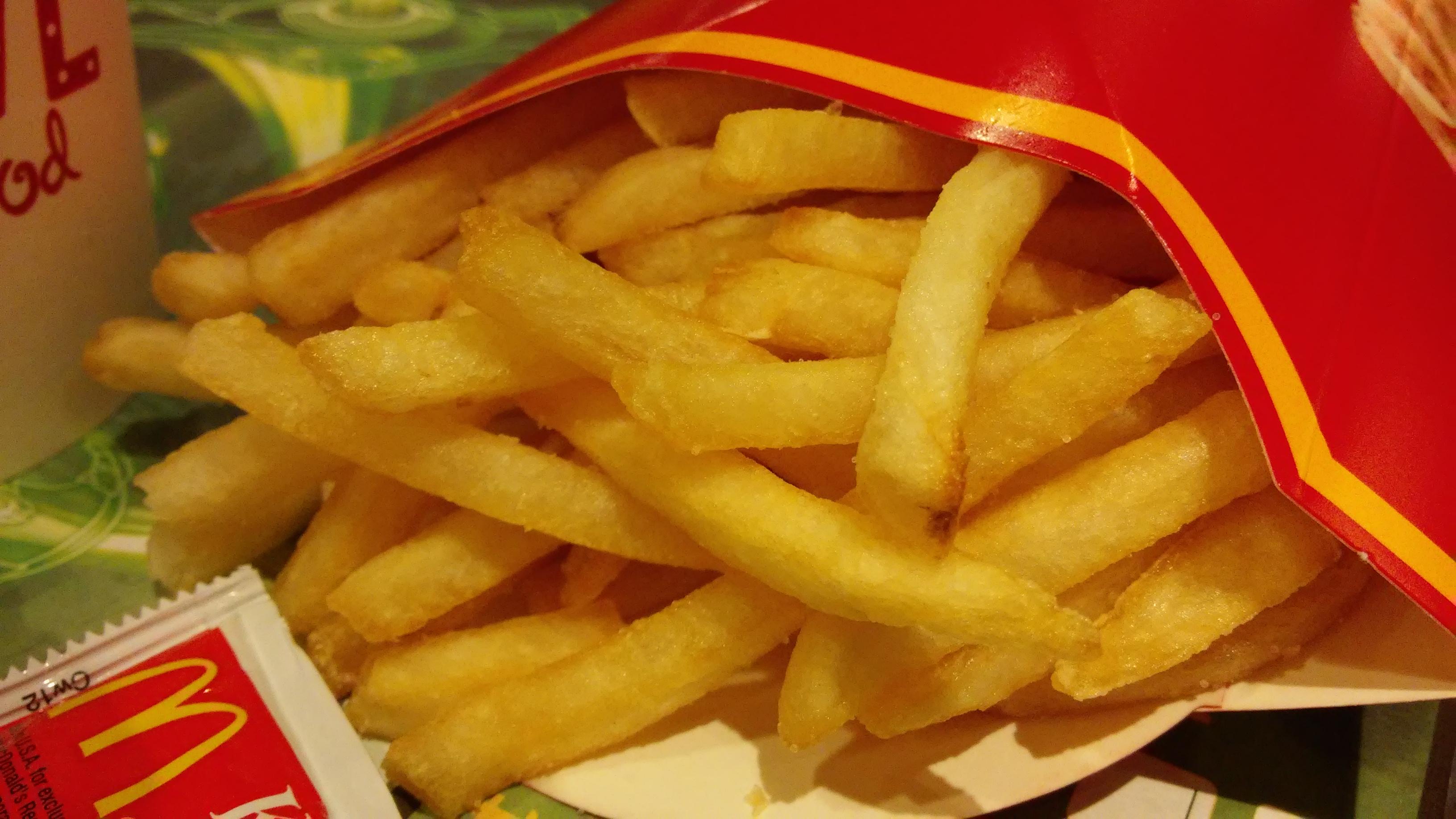 McDonald's Fries (Medium Size) = 50g carbs