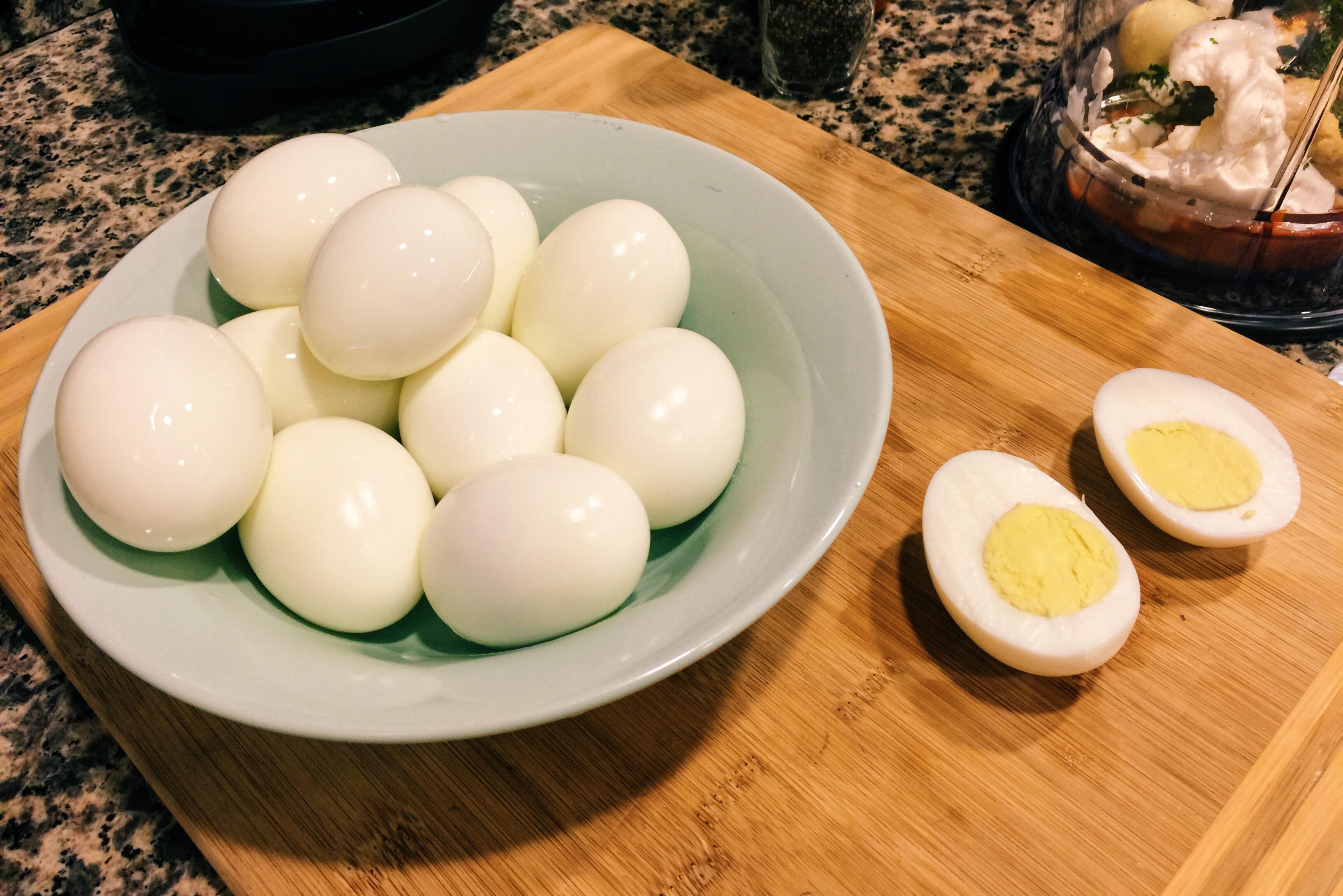 Cooled Eggs