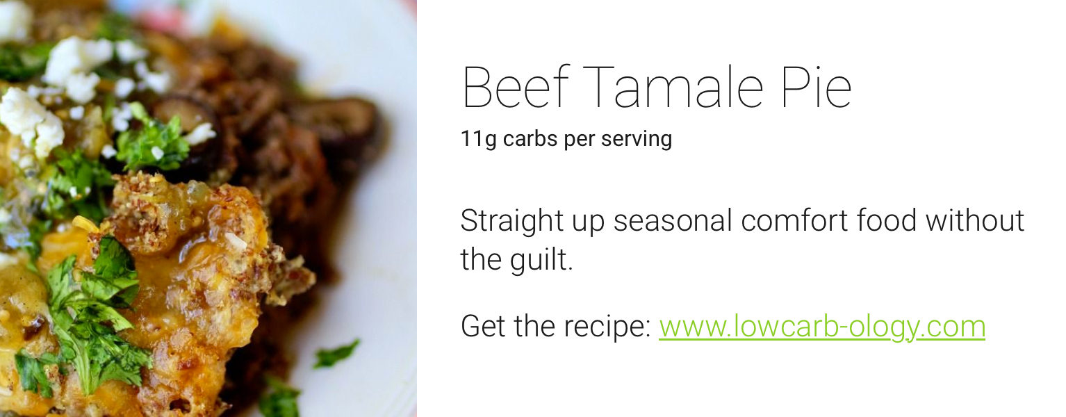 one drop holiday recipes - beef tamale pie