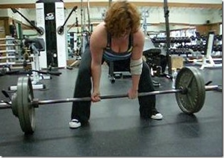 Ginger Powerlift - 12 Days of Diabadass
