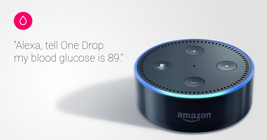 alexa voice - one drop diabetes